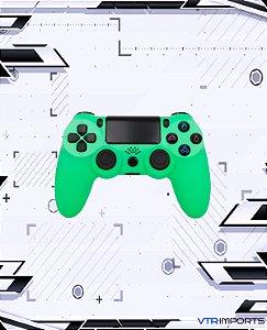(PRONTA ENTREGA) Controle PS4 - Lime Green com caixa e carregador + 1 Kontrol Freek