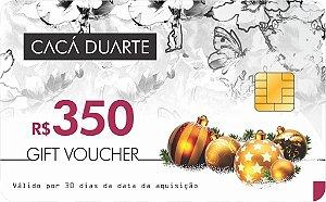 GIFT VOUCHER R$ 350,00