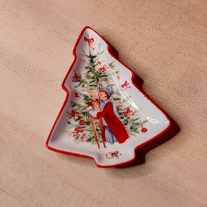 Petisqueira Natalina Pinheiro em Cerâmica