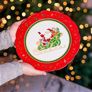 Boleira Cake Glam em Cerâmica