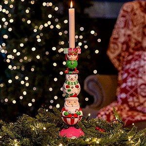Candelabro Trupe do Natal