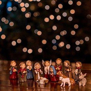 Presépio Nascimento do Menino Jesus