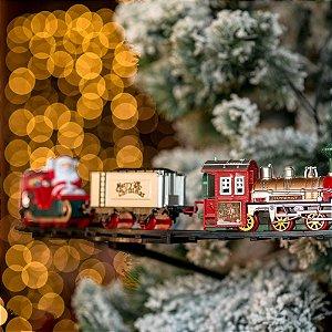Trem para Árvore Expresso Natalino