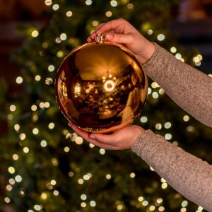 Bola Dourada Brilho