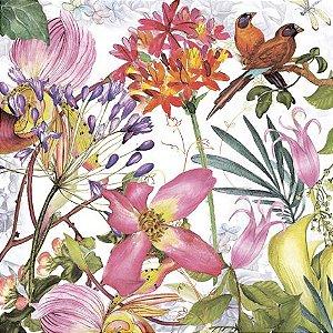 GUARDANAPO DE PAPEL FLOWERS ALEMÃO DESIGN33