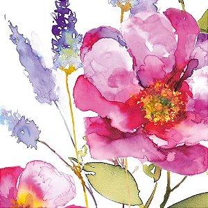 GUARDANAPO DE PAPEL PINK FLOWER ALEMÃO DESIGN33