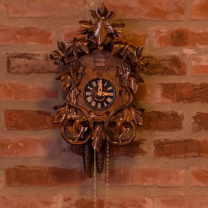 Relógio Cuco Mecânico Diário Ramas