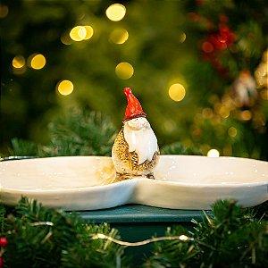 Petisqueira Cerâmica Santa Klaus