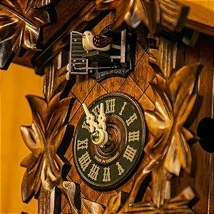 Relógio Cuco Eletrônico 5 Folhas Musical