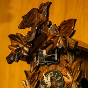 Relógio Cuco Eletrônico Clássico