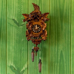 Relógio Cuco Tradicional Raposa Eletrônico