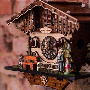 Relógio Cuco Chalé Família da Heidi Eletrônico