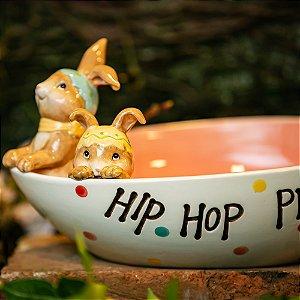 Petisqueira e Porta-Doçuras Hop Cerâmica Home