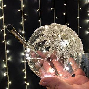 Balão Esfera Açucarada Cristal