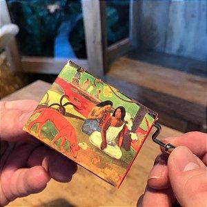 Caixinha de Música Paul Gauguin Realejo Classic