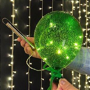 Balão Açucarado Verde Cristal