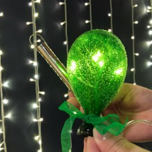 Balão Açucarado Verde Mini Cristal