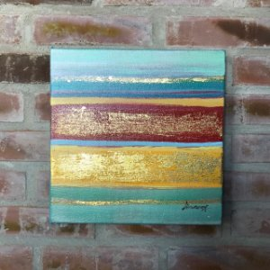 Tela a Óleo Abstrata Sea