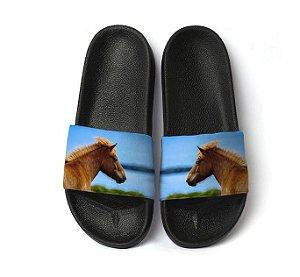 Chinelo Slide - Cavalo Tropical - Masculino