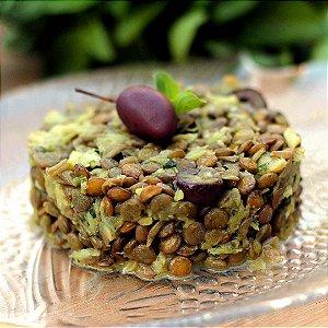 Salada de Lentilha e Bacalhau - 300g/382Kcal