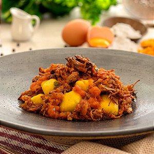 Nhoque de Batata Doce e Carne de Panela - 380g/461Kcal