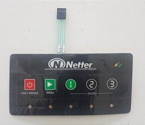Teclado Lavadora de Louças Netter 3 Ciclos NT-2103T, NT-3003T e NT-5003T
