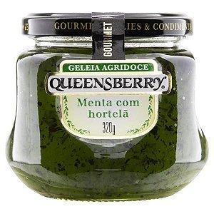 Geleia Agridoce Menta com Hortelã Queensberry Gourmet 320G