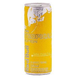 Energetico Red Bull Tropical Edição Limitada 250ml