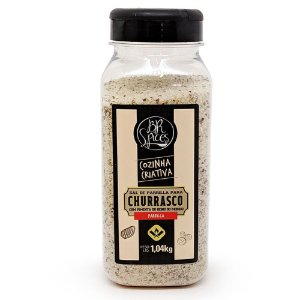 Sal de Churrasco Br Spices Parrilla Pimenta Do Reino 1,04Kg