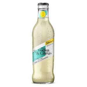Bebida Schweppes Vodka Citrus 250ml