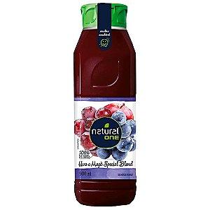 Suco Natural One Tradicional Uva e Maçã 900ml
