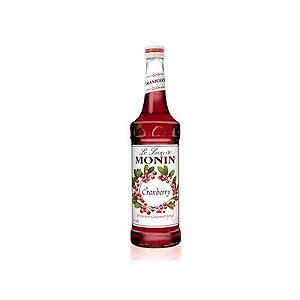 Xarope Francês Monin Cranberry 700ml