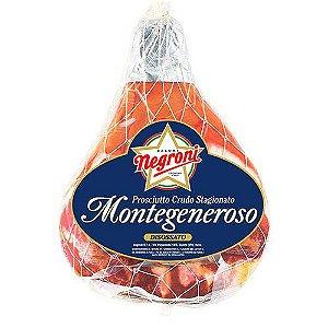 Presunto Cru Italiano Negroni Montegeneroso Sem Osso Fracionado 100g