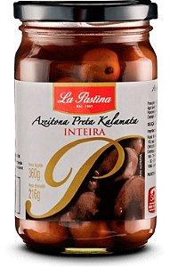 Azeitona Preta Inteira La Pastina 216g