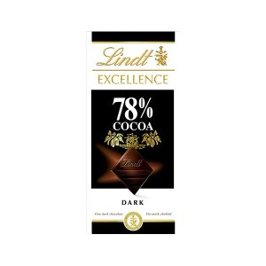Chocolate Suico Lindt Excellence 78% Dark 100g