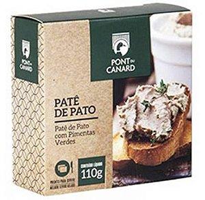 Patê Figado Pato Pont Canard Pimentas Verdes 110g
