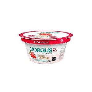 Iogurte Grego Yorgus Zero Lactose Morango 130g