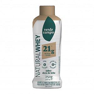 Iogurte Natural Whey 21 V. Campo Doce De Leite 250g