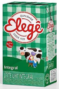 Leite Longa Vida Elege Integral Tetra Pack 1Litro