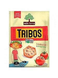 Biscoito Mãe Terra Tribos Orgânico Tomate/Manjericão 50g