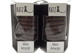 Chocolate Katz Pastilha Meio Amargo 100g