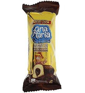 Bolinho Ana Maria Cobertura Chocolate 45g