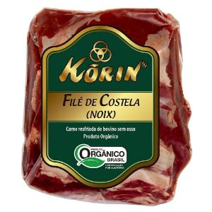 File Costela Bovino Korin Organico Resfriada 700g