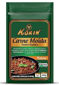 Carne Moida Paleta Orgânica Korin 400g