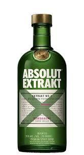 Aperitivo Sueco Absolut Extrakt 750ml
