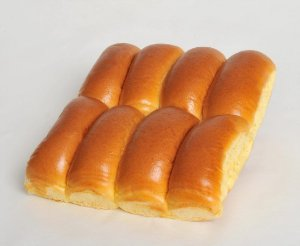 Mini Pão de Hot Dog 120g com 8 unidades