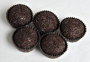 Brigadeiro Gourmet Meio Amargo Com 6 Unidades