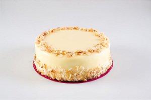 Torta de Coco com Amêndoas - Aro 18