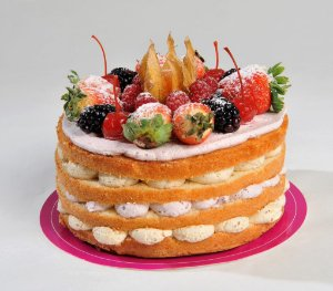 Torta Luxo e Riqueza - Aro 18