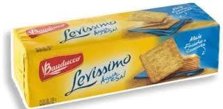 Biscoito Bauducco Levissimo Cracker Agua/Sal 200g